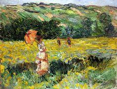 Claude Monet Meadow at Limetz 1887