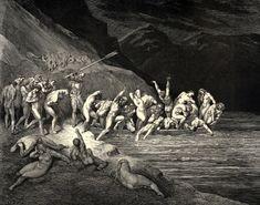 Gustave dore l'enfer de dante hell