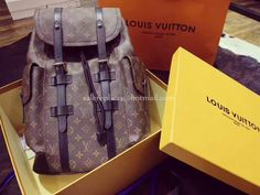 2328abff2b99 Louis Vuitton Christopher PM Men s Backpack M43735 Luxury Backpacks