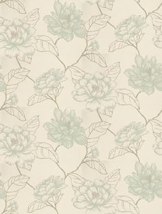 Harlequin's Florine is taken from the Amilie wallpaper collection and is in stock and available for purchase.