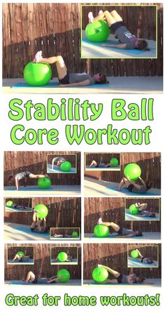 Using a stability ball in your core workout really opens up more exercises, and provides more of a challenge. This workout has exercises for beginners and seasoned athletes alike to challenge the core and get firm abs!