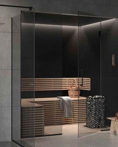 Hemmaspa i fjällen: Här finner vi vårt lugn Sauna House, Sauna Room, Bathroom Renos, Bathroom Interior, Toilet And Bathroom Design, Sauna Wellness, Sauna Design, Basement House, Terrace Design