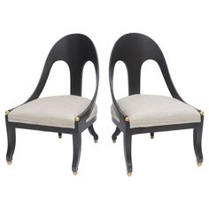 Check out the deal on Pair Chairs in the manner of Michael Taylor at Eco First Art