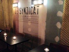 Le Syndicat - Organisation de Défense des Spiritueux Français, a new great cocktail speakeasy bar, just opened in hype #Paris10