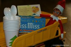 Elf on the Shelf: Hot Chocolate and a Movie
