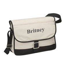 Business Computer Canvas Messenger bag Size: 15