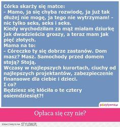 Stylowi.pl - Odkrywaj, kolekcjonuj, kupuj Haha, Geek Stuff, Jokes, Sayings, Madeleine, Geek Things, Husky Jokes, Lyrics, Ha Ha