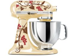 Grape Vine Mixer Decals for your Kitchenaid Stand Mixer