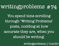 Image result for writer problems