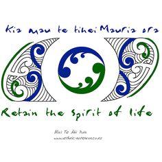 Maori Art - Spirit of Life Hawaiian Tribal Tattoos, Samoan Tribal Tattoos, Maori Tattoos, Borneo Tattoos, Tatoos, Maori Tattoo Meanings, Maori Symbols, Polynesian Designs, Maori Tattoo Designs