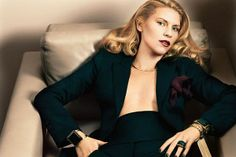 Homeland actress Claire Danes transforms into a modern-day Grace Kelly for Interview Magazine's November 2014 issue shot by Fabien Baron, styled by Karl Templer. Claire Danes, Fabien Baron, Carrie Mathison, Cara Delvingne, Interview, Templer, Vogue, Bikini, Models