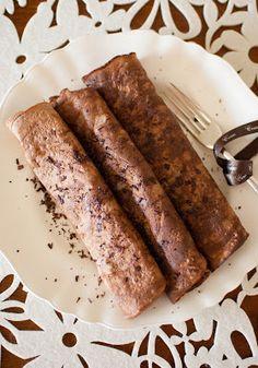 Scandi Home: Sweet Basil and Chocolate Crepes