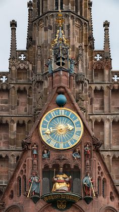 The astronomic clock at the Frauenkirche