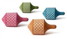 Na, wie wärs mit einem Kreisel? -- Fish spinning top by Londji creative toys
