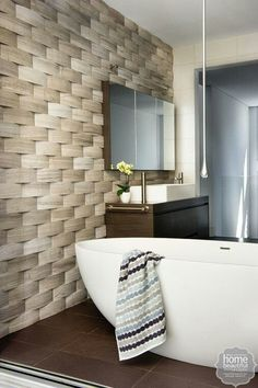 What an awesome tile! https://au.lifestyle.yahoo.com/home-beautiful/g/26437229/10-of-the-best-modern-bathrooms/26437231/#4