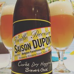 Enjoying #NationalBeerDay with this lovely #saison DuPont Cuvée Dry Hopping (2014). I find it to be quite delicious! It was in my goodie bag from last night's #belgianbeer tour in Tampa. Here's to #beer day or as we #craftbeer lovers say just any other day. Beer has brought me a lot of great friends and for that I toast & give thanks