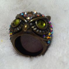 "Spotted while shopping on Poshmark: ""Size 7 Kirks Folly Owl Ring. ➡️REDUCED⬅️""! #poshmark #fashion #shopping #style #Kirks Folly #Jewelry"