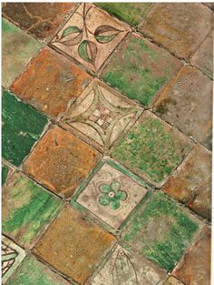 pavement du palais des papes carreaux céramique