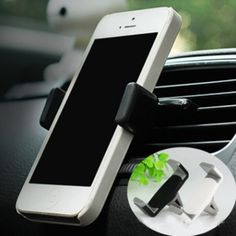 Universal Car Phone Holder Stand Bracket 360 Degree Adjustable Air Vent Mobile Phone Mount Holder for iPhone 6 7 Plus HTC GPS