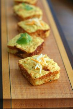 How great would these be with some BBQ chicken? Cheesy Mashed Cauliflower Puffs from @Carolyn Ketchum