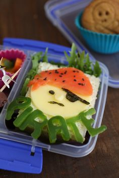 Ahoy there! Bento Lunch Fit for a Pirate