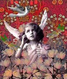magnolia girl by Romany Soup, via Flickr. Sweet!