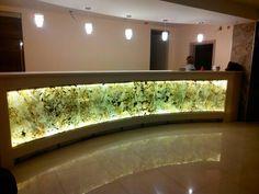 Ivf Center, Indirect Lighting, Stone Veneer, Panel Art, Hotel Lobby, Commercial Design, Acrylic Art, Home Decor Items, Agate
