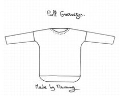 Pull oversize le patron et les explications - Made by mummy Coin Couture, Couture Sewing, Pull Oversize Crochet, Couture Tops, Top Diy, Free Pattern, Voici, Crop Tops, Sweatshirts
