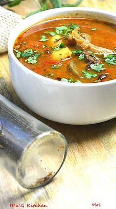 R'n'G Kitchen: Zupa gulaszowa z boczniakami