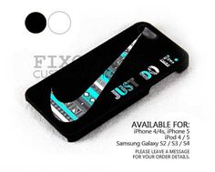 Aztec Mint Nike case for iPhone 4/4S/5 iPod 4/5 Galaxy S2/S3/S4 | FixCenter - Accessories on ArtFire