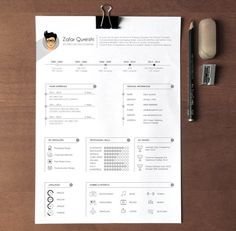 Professional Resume Template Resume Template For Word Cv