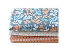 Stoffpakete - Fat Quarter 3er Pack Leaves YFQ082 - ein Designerstück von kiseki bei DaWanda