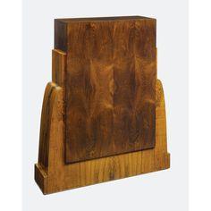 French Art Deco Pedestal rosewood, circa 1930's.