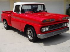 1960 Chevrolet Stepside Restored C10 W/Air Conditioning