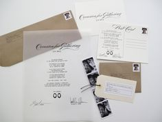 Clear invitations