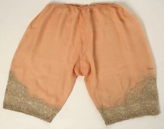 Underpants (Bloomers), Christophe, late 1920s, French, silk and cotton
