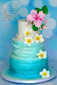 you will discover Hawaiian wedding cakes Pictures with tier shades included sand, Hawaiian wedding cakes pictures includes components that you can obtain Moana Birthday Party, Luau Birthday, Luau Party, Hawaii Birthday Cake, Moana Party, Moana Theme, Batman Birthday, Birthday Cakes, Birthday Ideas