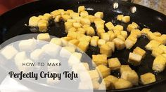 In this video Aviva Goldfarb shows you how to cook tofu so it is browned and crispy. You can make it with a little oil in the skillet, rather than deep fryin. Easy Family Dinners, Healthy Family Meals, Easy Dinners, Family Recipes, Chinese Tofu Recipes, Asian Recipes, Crispy Tofu, Sugar Free Recipes, Kid Friendly Meals