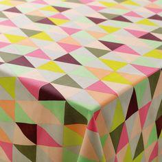 Textilwachstuch Dreieck Mehrfarbig bespannen KinderZimmerMöbel