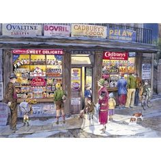 Jigsaw Puzzles Direct - A huge range of jigsaws, jigsaw puzzles, mind puzzles and accessories for all ages that you can buy online. Norman Rockwell, Jigsaw Puzzels, Mind Puzzles, Cocoa, Nostalgic Art, Decoupage, Puzzle Art, Cartoon Art Styles, Detail Art