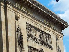 L'arc de triomphe de Louis XIV près des Grands Boulevards