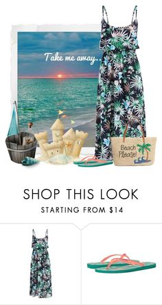 """""""Take me away"""" by sherbear1974 ❤ liked on Polyvore featuring Havaianas and Nordstrom"""