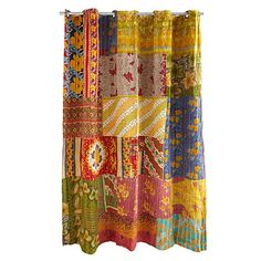 Look what I found at UncommonGoods: Kantha Shower Curtain for $90.00