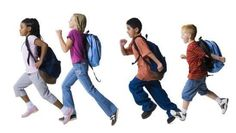 ~ Stop right there...Don't just throw your knapsack into your closet! End of School Organizing