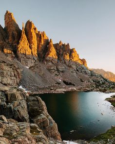 Sky Pond, Rocky Mountain National Park, Colorado