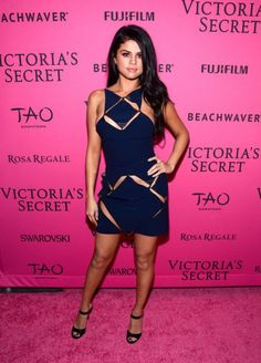 NEW YORK, NY - NOVEMBER 10: Selena Gomez attends the 2015 Victoria's Secret Fashion After Party at TAO Downtown on November 10, 2015 in New York City. (Photo by Grant Lamos IV/Getty Images)