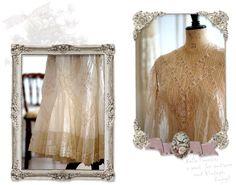 【Belle Lurette】ヨーロッパ フランス アンティークレース リネン服の通販