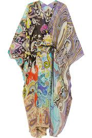 Shop for Printed silk-chiffon kaftan by Etro at ShopStyle. Cornelia Webb, Maria Black, Dress Outfits, Dresses, Beach Outfits, Silk Chiffon, Paisley Print, Fashion Details, Beachwear