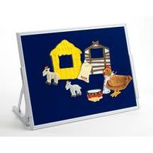 Three-In-One Language Tabletop Easel