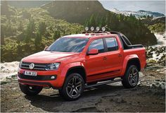 VOLKSWAGEN AMAROK CANYON EDITION with 2.0 l TDI engine